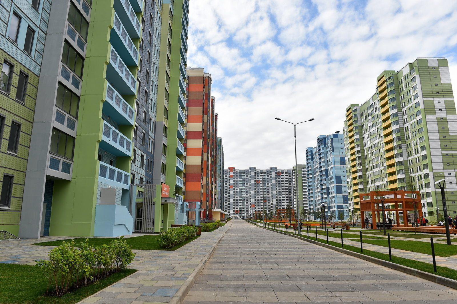 Фото московских жилых домов 5