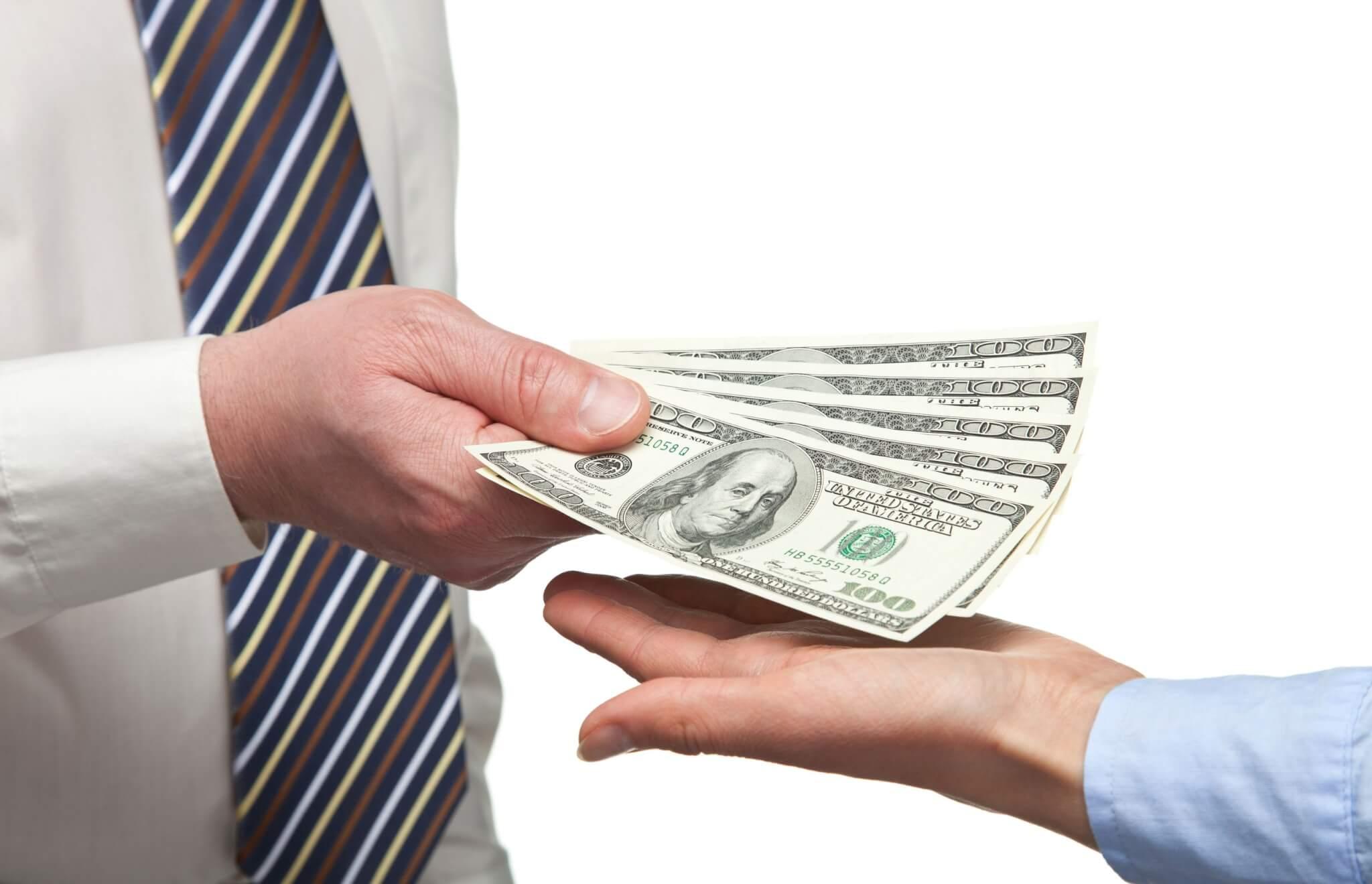 деньги на выдачу займа получил от отца